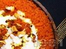 Рецепта Халава - десерт от моркови, сметана и ядки